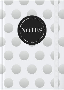 White & Silver Dots Cover